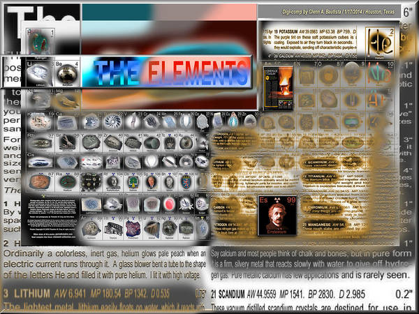 Digital Art - Elementscape '14  by Glenn  Bautista