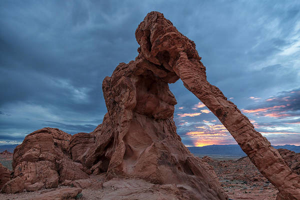 Wall Art - Photograph - Elephant Arch At Sunrise by Patrick Downey