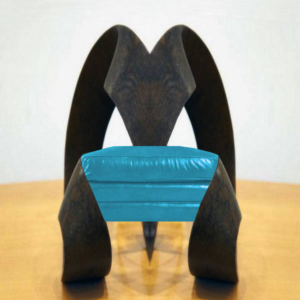 Digital Art - Elephant Chair  by Mary Russell