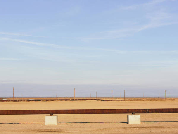 San Joaquin Valley Photograph - Elevated Oil Pipeline In The by Mint Images - Paul Edmondson
