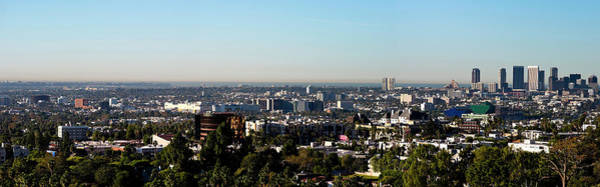 Medical Image Photograph - Elevated View Of City, Los Angeles by Panoramic Images
