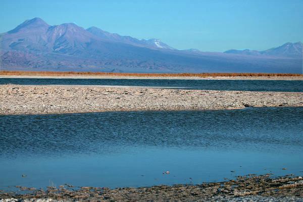 Salt Pond Photograph - Eleven Miles Outside Of San Pedro De by Mallorie Ostrowitz