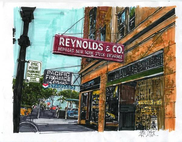 Eleventh And I Streets Art Print by Paul Guyer