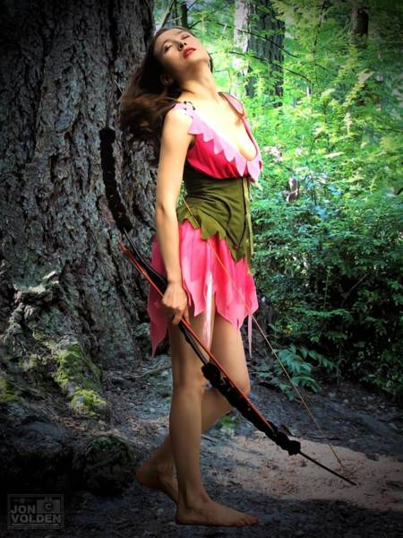 Photograph - Elf In The Wood by Jon Volden