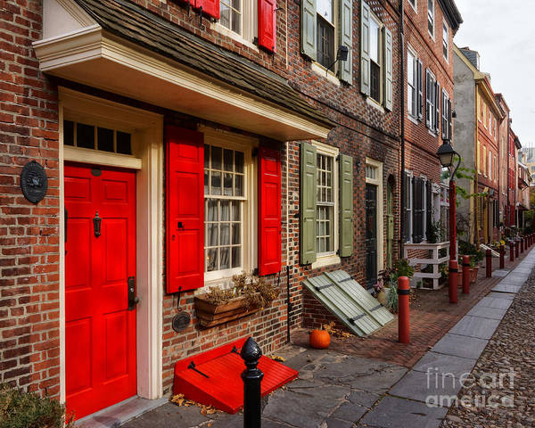 Wall Art - Photograph - Elfreth's Alley 3 by Jack Paolini