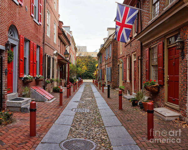 Wall Art - Photograph - Elfreth's Alley 5 by Jack Paolini