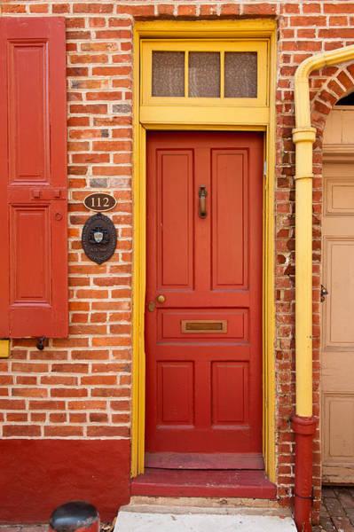 Photograph - Elfreth's Alley Door 3 by Keith Swango