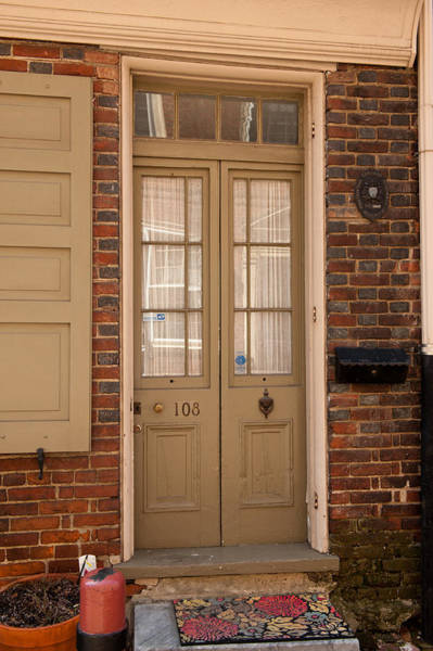 Photograph - Elfreth's Alley Door 4 by Keith Swango