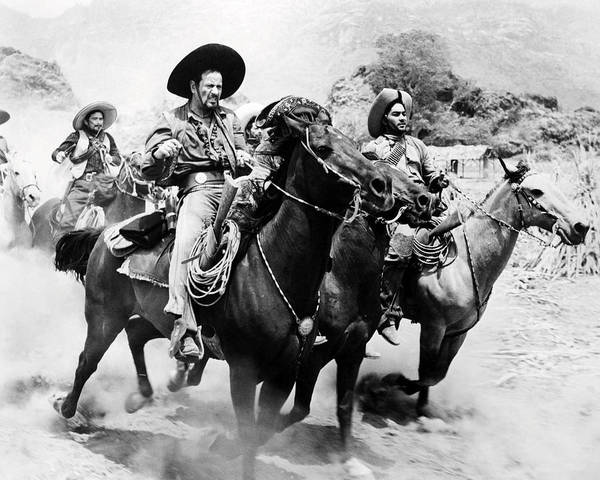 Wall Art - Photograph - Eli Wallach In The Magnificent Seven  by Silver Screen
