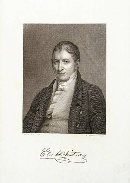 Wall Art - Photograph - Eli Whitney by Library Of Congress/science Photo Library
