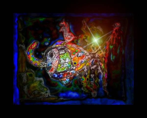 Phish Digital Art - Eliphish by Mimulux patricia No