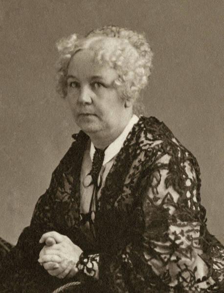 Photograph - Elizabeth Cady Stanton (1815-1902) by Granger