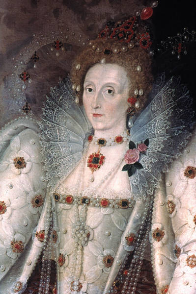 Wall Art - Painting - Elizabeth I Of England by Granger