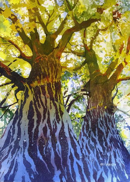Arbor Painting - Elizabeth's Canopy by Kris Parins