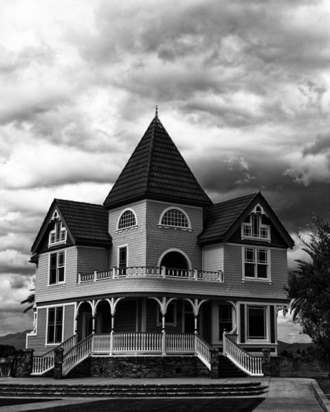 Baluster Wall Art - Photograph - Ellen Rowe Victorian House Livermore Ca by Troy Montemayor