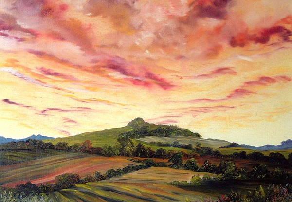 Census Painting - Ellerby  N E Yorkshire by Jean Walker