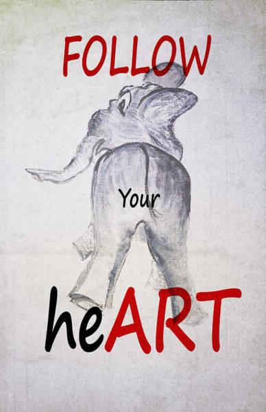 Photograph - Ellie Follow Your Heart by Judy Hall-Folde