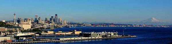 Elliot Bay Wall Art - Photograph - Elliot Bay Panorama by Benjamin Yeager