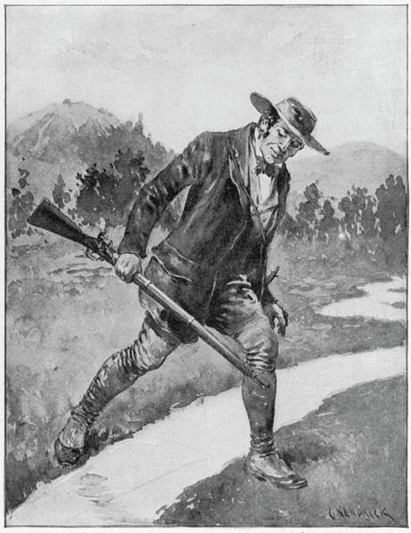 Minnesota Drawing - Elliot Coues (1842-1899) by Granger