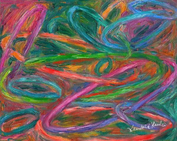 Painting - Elliptical Fall by Kendall Kessler