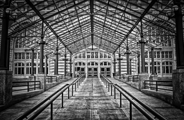 Photograph - Ellis Island Entrance by Ben Shields