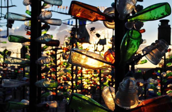 Photograph - Elmer Long's Bottle Tree Ranch Sunset by Kyle Hanson