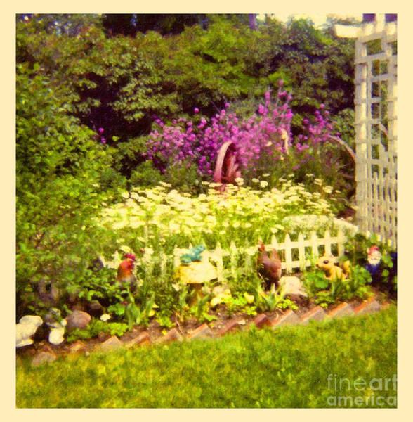 Photograph - Elna's Garden 2 by Donna L Munro