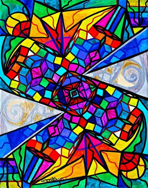 Painting - Elucidate Me by Teal Eye Print Store