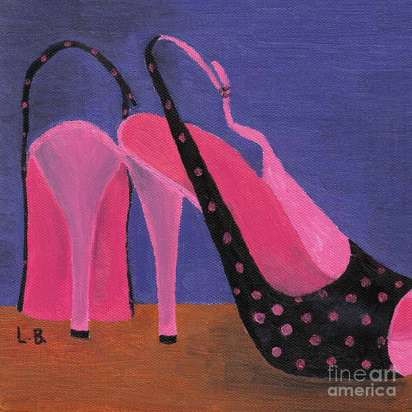 Painting - Elvira's Shoes by Laurel Best