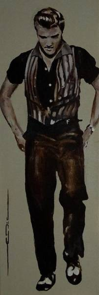 Painting - Elvis 1953 by Eric Dee