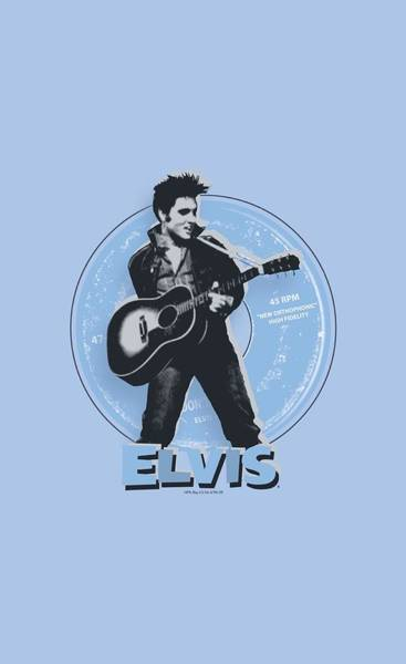 Soul Wall Art - Digital Art - Elvis - 45 Rpm by Brand A