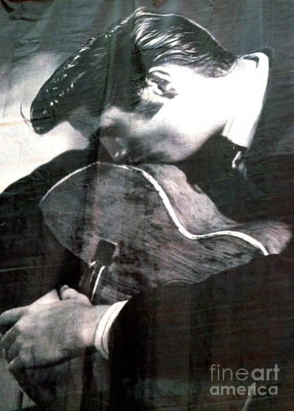 Elvis Photograph - Elvis Gently Weeps by David Bearden