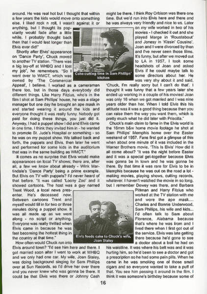 Photograph - Elvis Interview - Page 2 by Chuck Staley
