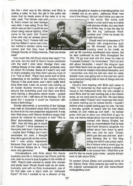 Photograph - Elvis Interview - Page 3 by Chuck Staley