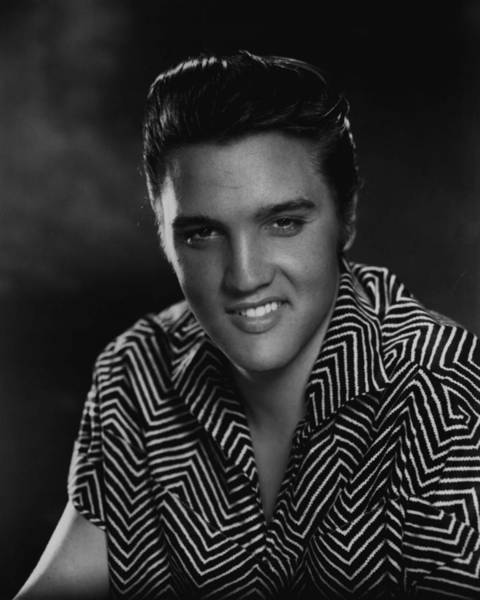 Controversy Photograph - Elvis Presley Head Shot by Retro Images Archive