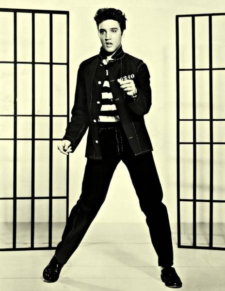 Photograph - Elvis Presley Jailhouse Rock by Movie Poster Prints
