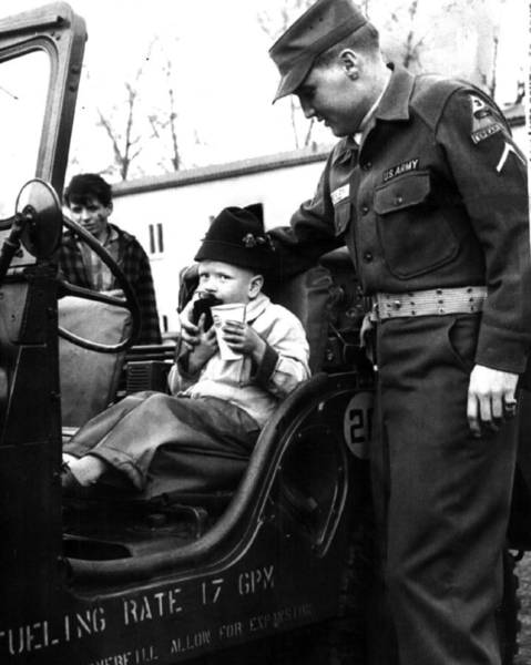 Controversy Photograph - Elvis Presley With Fan by Retro Images Archive