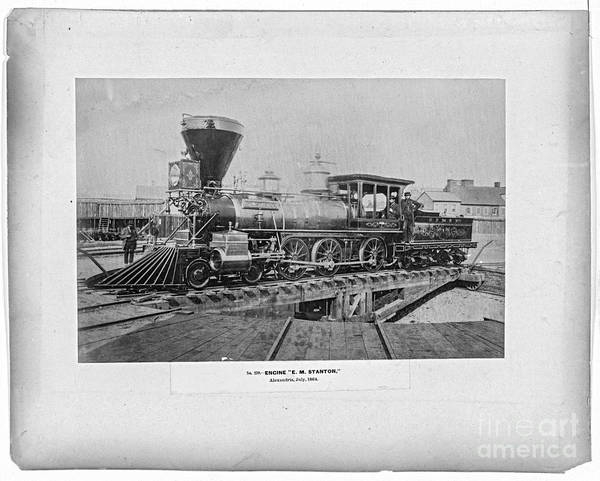 Photograph - Em Stanton Locomotive by Russell Brown
