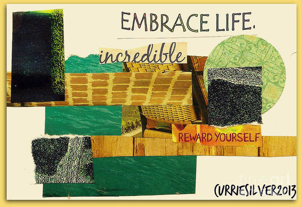 Embrace Art Print by Currie Silver