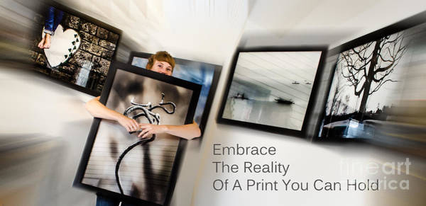 Photograph - Embrace The Reality by Michael Arend
