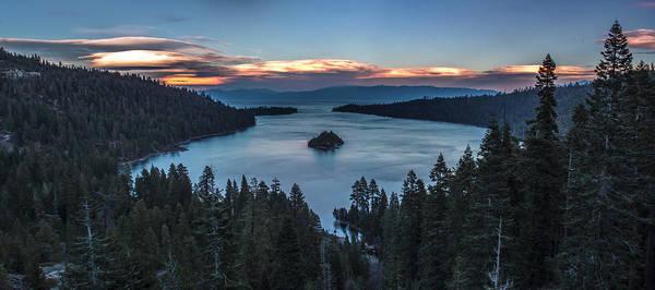 Emerald Bay Photograph - Emerald Bay Sunset by Brad Scott