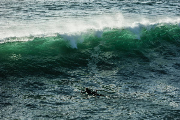Photograph - Emerald California Surfing - La Jolla San Diego California  by Georgia Mizuleva