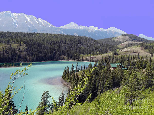 Photograph - Emerald Lake In Carcoss by Gena Weiser