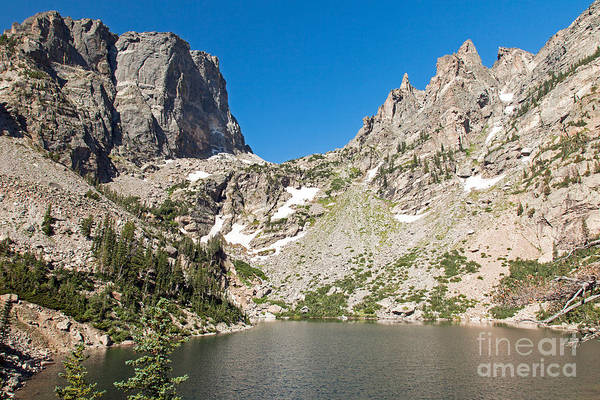 Photograph - Emerald Lake In Rocky Mountain National Park by Fred Stearns