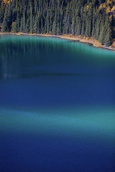 Yukon Territory Photograph - Emerald Lake Viewed From Above by Paul Zizka