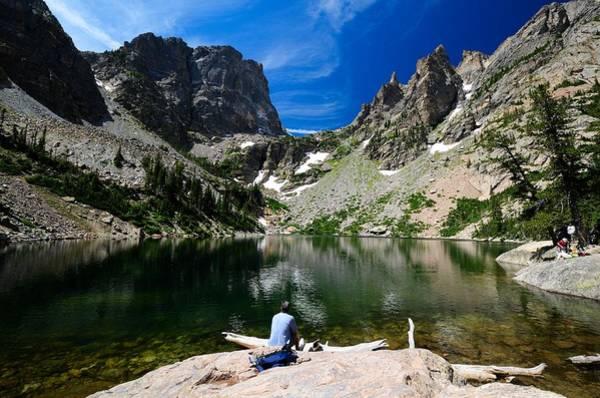 Photograph - Emerald Lake by Walt Sterneman