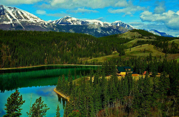 Photograph - Emerald Lake - Yukon by Juergen Weiss