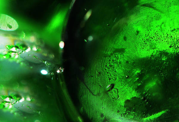 Photograph - Emerald Light by Jenny Rainbow