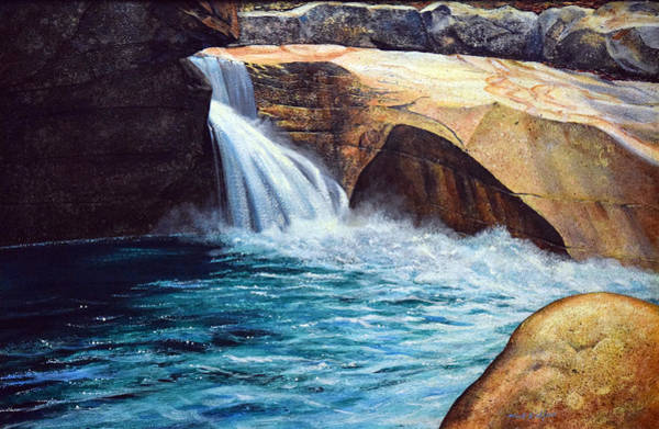 Painting - Emerald Pool by Frank Wilson