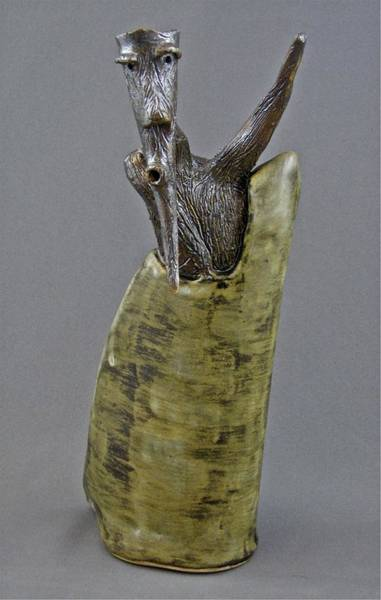 Sculpture - Emergence #1 by Mario MJ Perron